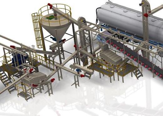 HAAN Industrial Group bouwt nieuwe productielijn Xella Cellenbeton (Landgraaf)
