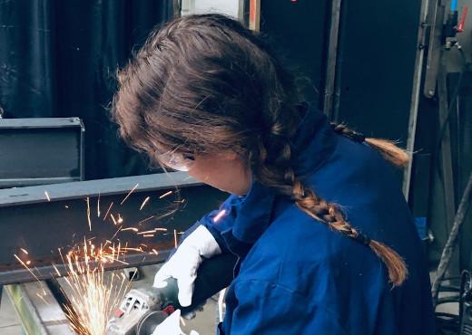 Eerste vrouwelijke medewerker in de techniek bij HAAN Industrial Group
