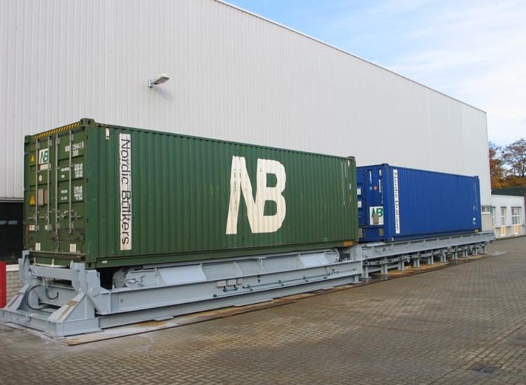 Container beladingssysteem