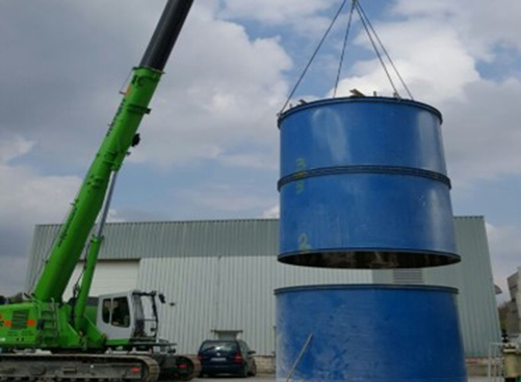 Onderhoud reactoren, mengers en roerwerken