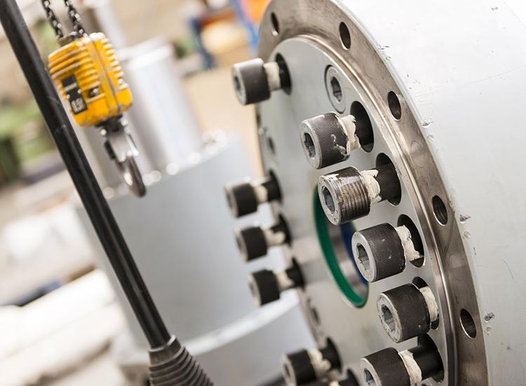 Revisie hydrauliekcilinder decoiler