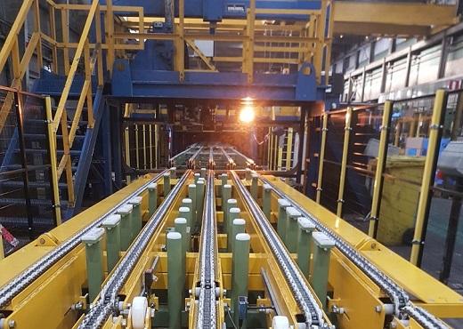 HAAN Industrial Group ontwikkelt en bouwt nieuw transportsysteem voor Service Centre Maastricht (Tata Steel)
