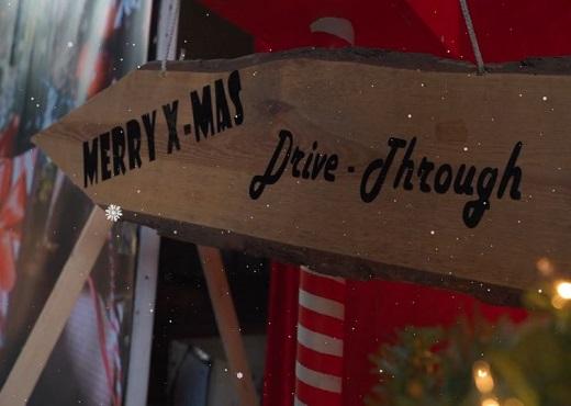 Kerst Drive-in als alternatieve kerstborrel
